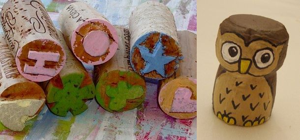 Wine cork DIY decorating projects for home