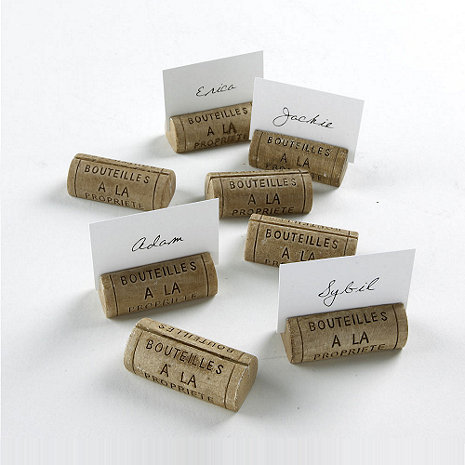 Wine cork diy decorating projects card holders