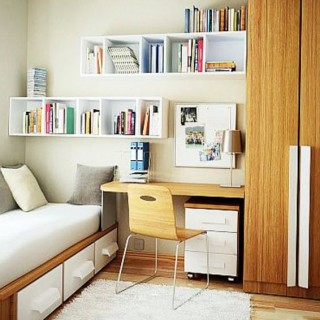 Amazing ideas for small bedrooms for space