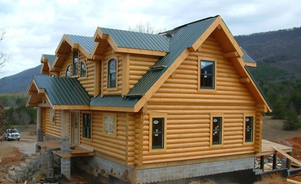 Log homes plans and designs