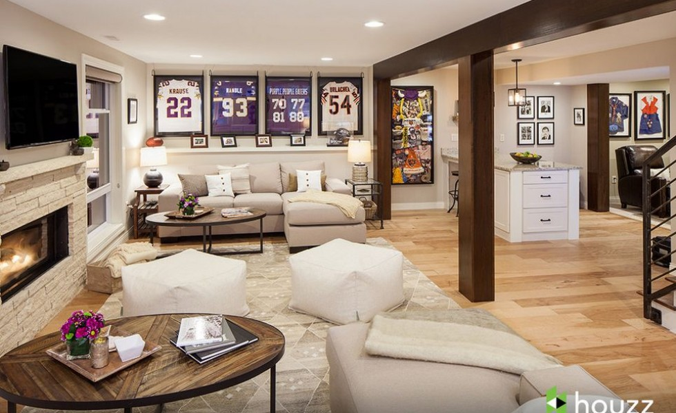 a dream basement ashton kutcher s surprise for his mom