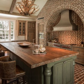 Reclaimed brick design ideas for home