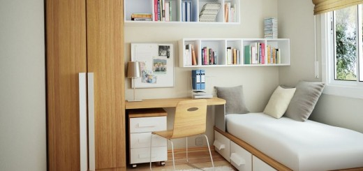 How to decorate a one bedroom apartment to get space