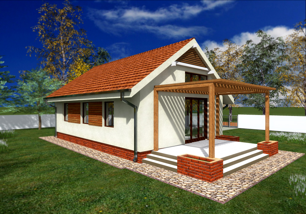 House plans for a family of three - Housessquare meters three affordable projects ...