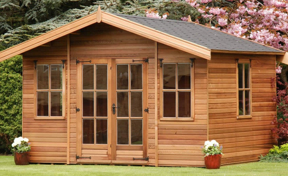 Garden summer house design ideas for Garden house design ideas