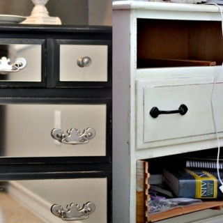 Old dressers makeover with a little paint archives houz buzz - Before and after old dressers makeover with a little paint ...