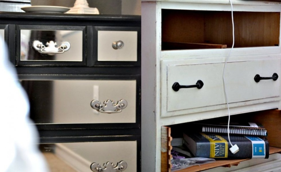Before and after old dressers makeover with a little paint - Before and after old dressers makeover with a little paint ...