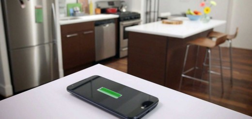 Phone charging furniture at home