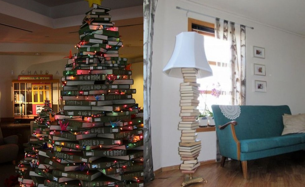 DIY uses for old books at home