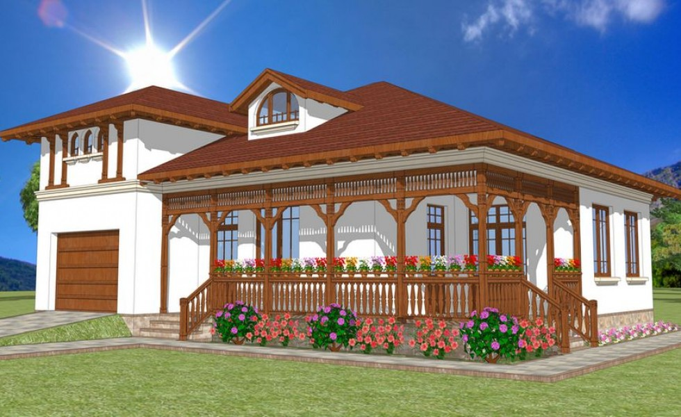 Neo romanian architecture functional house plans Functional house plans