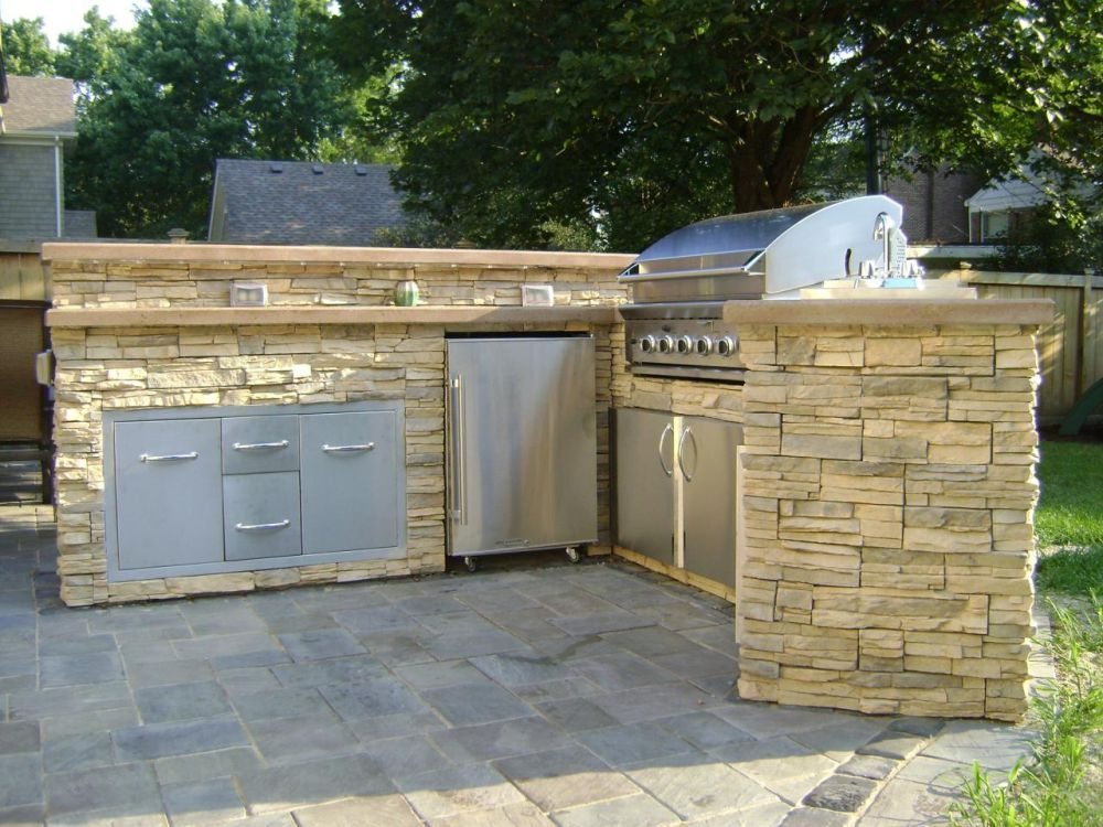 How to build an outdoor kitchen for Building an outside kitchen