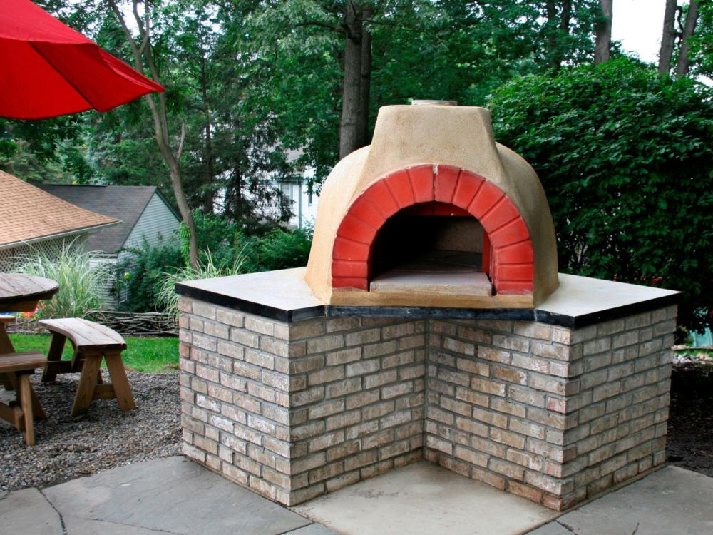 How to build an outdoor brick oven - How to build an outdoor brick oven ...