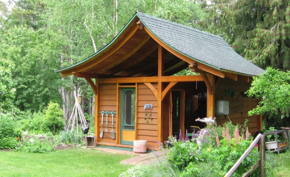 Building A Garden Shed - Design Ideas And Plans