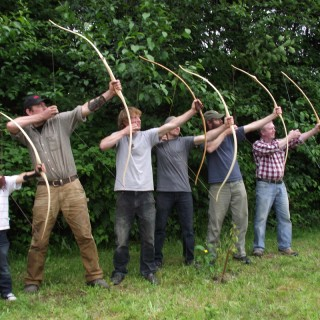 How to make a homemade bow and arrow out of wood at home