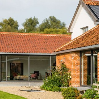 A spectacular barn conversion in England