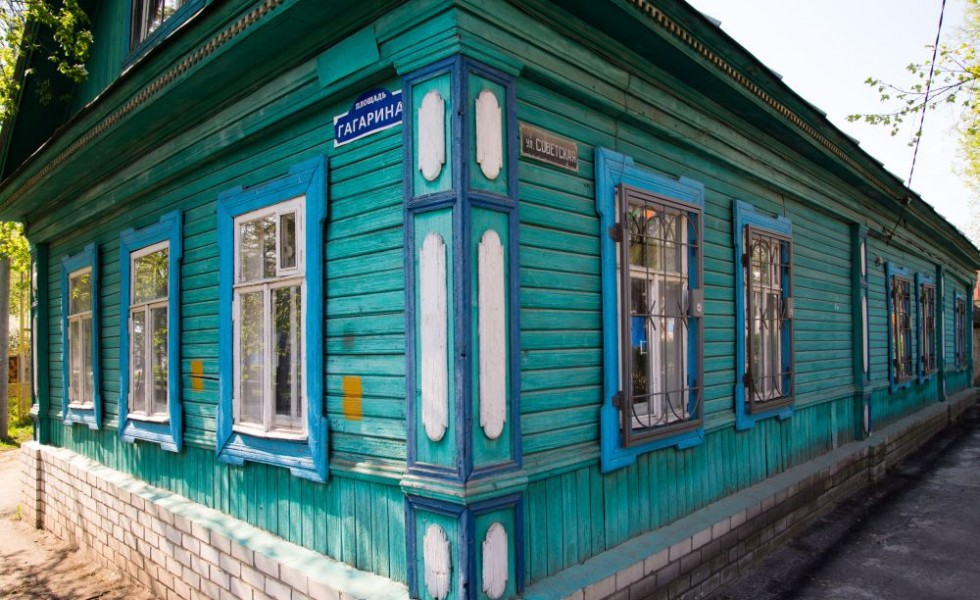 Russian style house plans made of wood