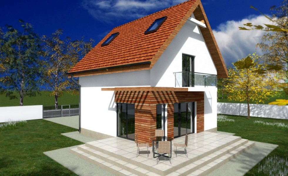 Tiny one story house plans spacious little homes for One story tiny house