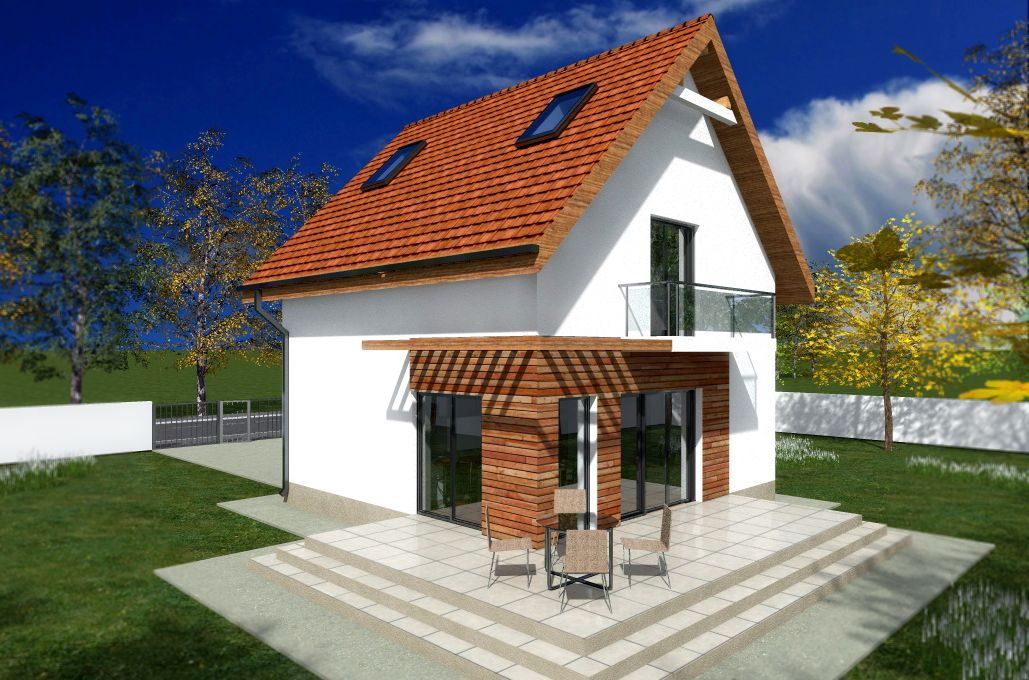 Tiny one story house plans spacious little homes for Case cu etaj