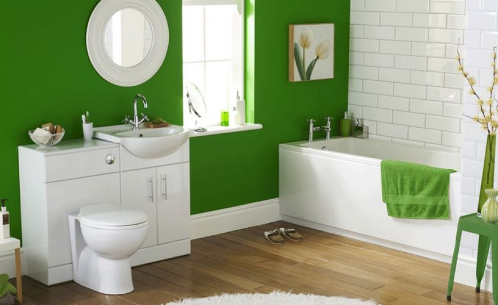Color ideas for small bathrooms at home