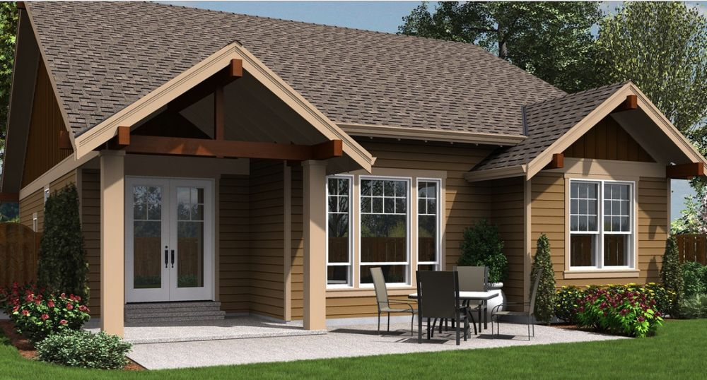 Elderly friendly house plans for Home plans for seniors