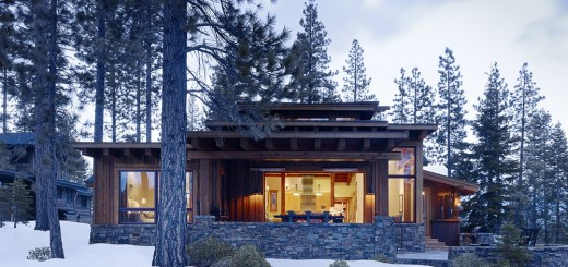 Mountain cabin plans in nature