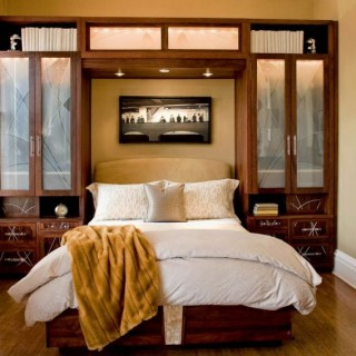 Interior design for small bedroom ideas on display