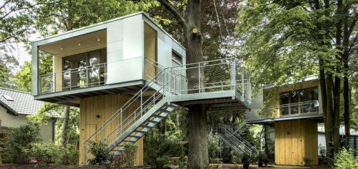 The urban treehouse in Berlin