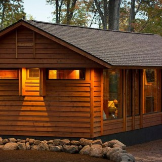The recreational vehicle turned cabin archives houz buzz - The recreational vehicle turned cabin in the woods ...
