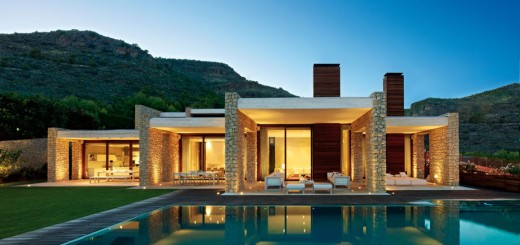 Single story modern house plans are effective