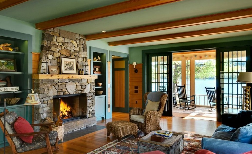 Rustic living room design ideas for Natural living room decorating ideas