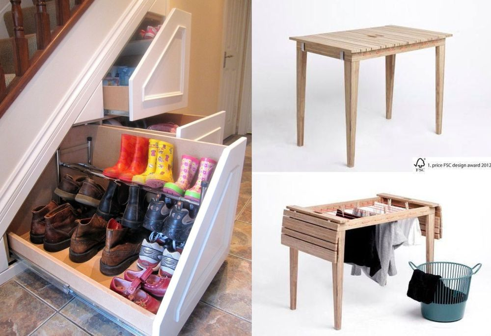 Smart furniture for small spaces handy solutions - Small space solutions furniture style ...