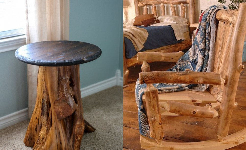 Amazing How To Make Rustic Wood Furniture At Home