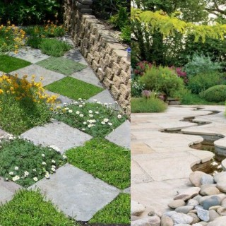 Decorative stone garden ideas archives houz buzz - Hemp rope craft ideas an authentic rustic feel ...