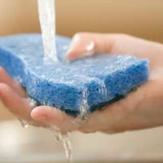 Seven different uses of the kitchen sponge at home
