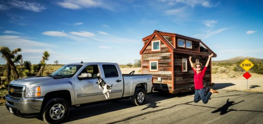 Around America in a tiny house on wheels