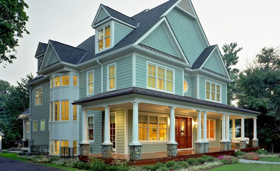 Classic house plans designs traditional elegance for American classic house style