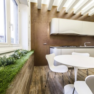 The green apartment in Rome