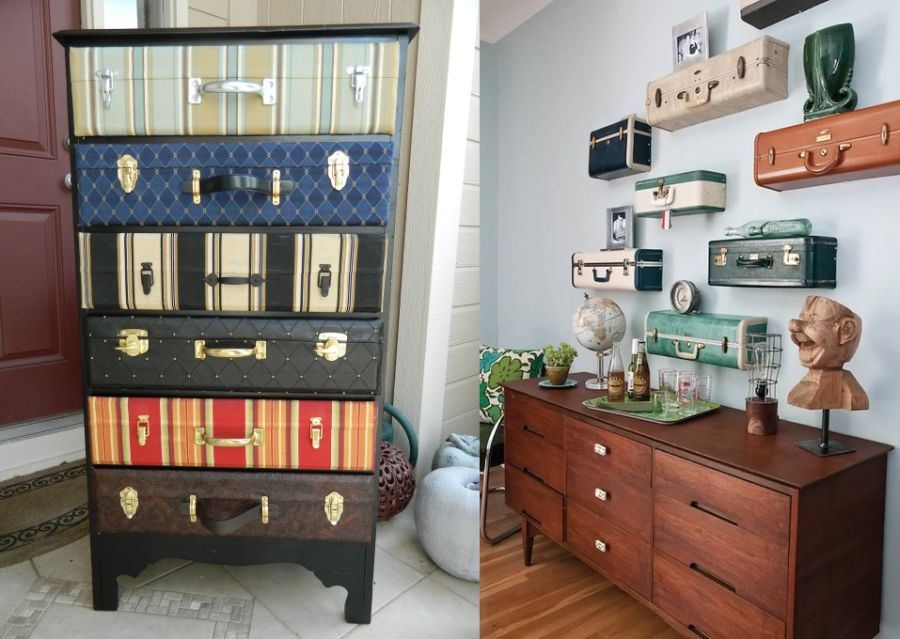 Repurposing old suitcases 8 creative ideas - Repurposing old suitcasescreative ideas ...