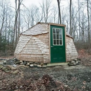 Tiny homes archives houz buzz - The geodesic dome in connecticut call of earth ...
