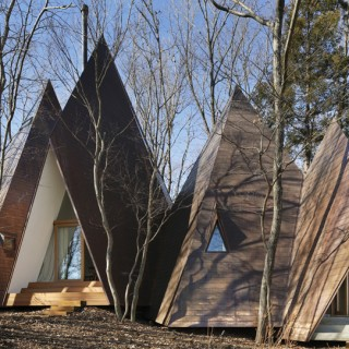 The tepee house archives houz buzz - The tepee house eccentric design in the midst of the woods ...