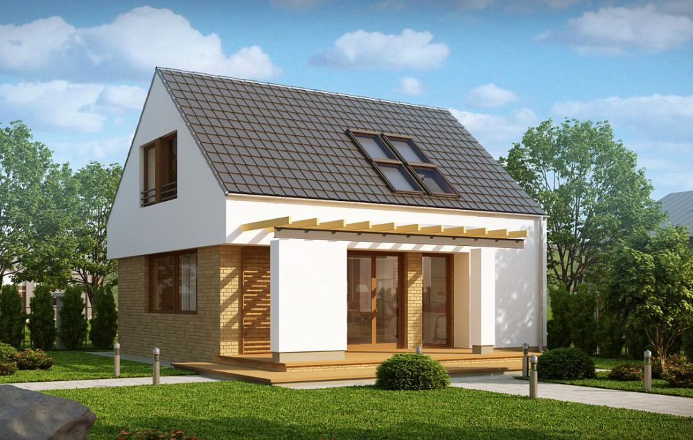 Small modern houses with loft the practical choice for Small modern house plans with loft