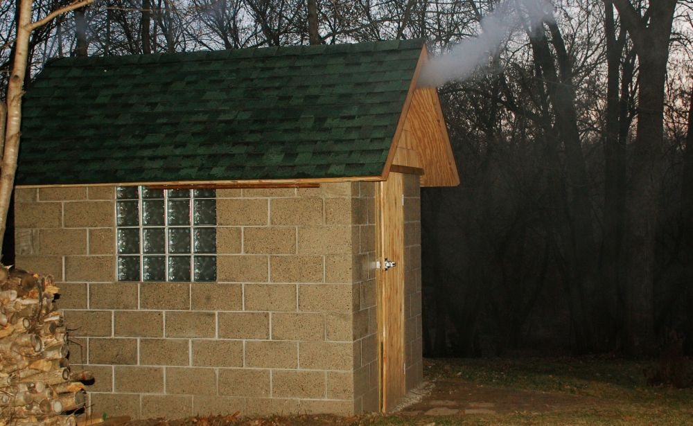 Building your own brick smokehouse in easy steps for Steps to building your own home