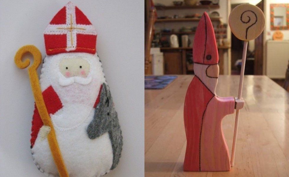 Saint Nicholas day decorations at home