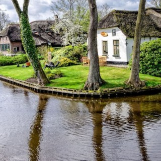 The water street magical town in Holland is awsome