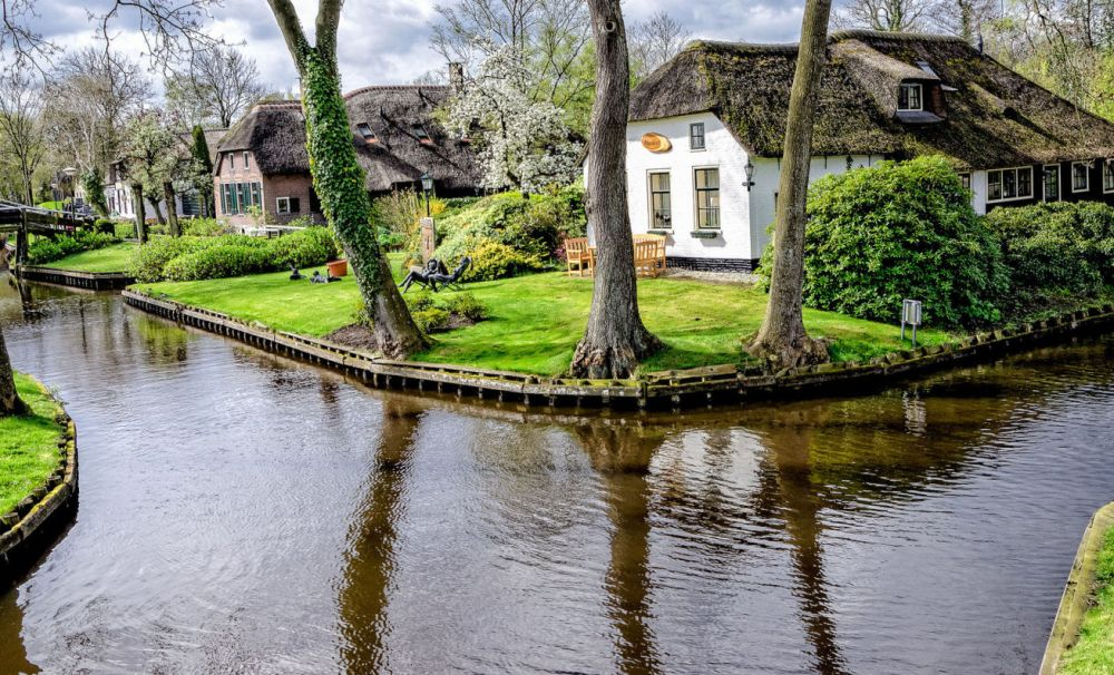 the water street magical town in holland