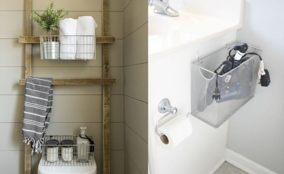 Seven Tips To Save Space In A Small Bathroom At Home