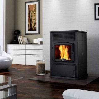 Pellet stoves at home