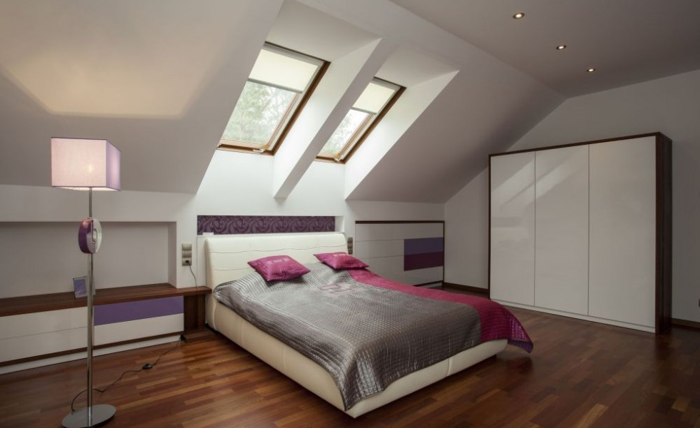 Turning an attic into a living space easily