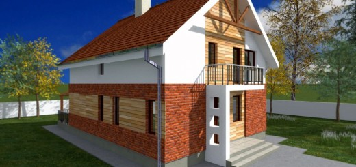 Brick and wooden structure houses for all