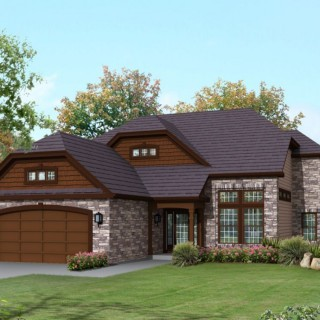 Rustic brick house plans for all